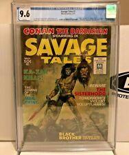 SAVAGE TALES #1 1971  CGC 9.6 NM+  CONAN  MANTHING  HUGE KEY  NEW CASE  BEAUTY!!
