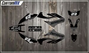 CustomMX: Graphics Kit To Fit WR125R YAMAHA WR 125 R GRAPHICS 09-18 WR125X