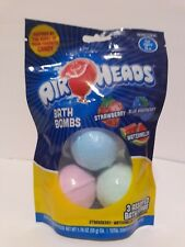 AirHeads Bath BombsFizzies - Strawberry, Watermelon, Blue Raspberry 3-Pack New!