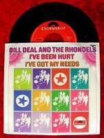 Single Bill Deal & Rhondels: I´ve Been Hurt (Polydor 50 286) D