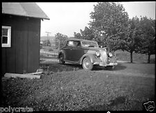 Ancienne voiture américaine -  ancien négatif photo an. 30 40