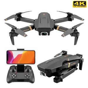 Quadcopter Drone With 4k HD Wide Angle Dual Camera with WIFI
