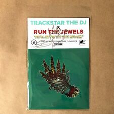Run the Jewels Signed Pistol and Fist Live Video Mix 4 Flex Disc Record EP Set