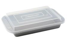 "Farberware Rectangular Cake Pan with Plastic Lid Nonstick (9"" x 13"")"