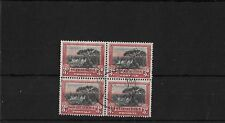 SOUTH AFRICA SG35, 3d PERF 14, FINE USED BLOCK OF FOUR, CAT £64