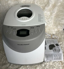 Hamilton Beach HomeBaker 2 Pound Automatic Breadmaker Model 29881 Type Bm07