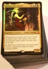 ***Custom Commander Deck*** Varina, Lich Queen - Zombies EDH Mtg Magic Cards