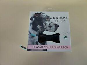 Wondermento WonderWoof The Smart Bowtie For Your Dog Activity Monitor Black New