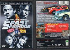2 FAST 2 FURIOUS - DVD (USATO EX RENTAL)