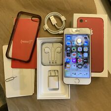 Apple iPhone 7 (256 gb) (Unlocked) Red Special Edition - Excellent in Orig. Box