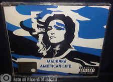 MADONNA - AMERICAN LIFE cd blu 2003CDS