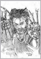 WOLVERINE(HUGH JACKMAN) X-MEN PRINT Tom FLEMing