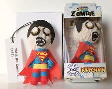 New DC Zombie Superman String Doll toy Figure Keychain Voodoo phone charm strap