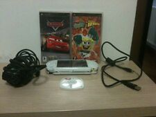 Console Sony PSP + 2 Giochi E Demo+adattatore/cavo Usb+batteria +memory Card 1GB