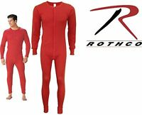 Winter Classic Men's Long Johns Red One Piece Union Suit You pick Size 6453