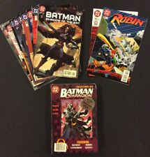 BATMAN LEGACY & CONTAGION Crossovers COMPLETE Detective ROBIN Catwoman CHAIN DC