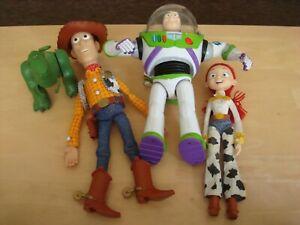 TOY STORY BUNDLE - BUZZ LIGHTYEAR, WOODY, REX AND JESSIE.