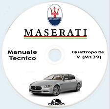 manuale officina Maserati Quattroporte M139