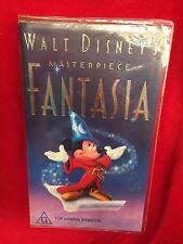 Walt Disney's Masterpiece Fantasia VHS Video Tape Mickey Mouse Village Roadshow