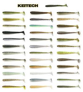 "Keitech Swing Impact Swimbait, 4"", Choice of Colors"
