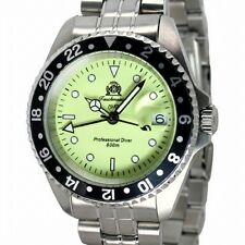 Tauchmeister U-Boot-Professionell DIVER Luminous 60ATM 24h SWISS-GMT T0261