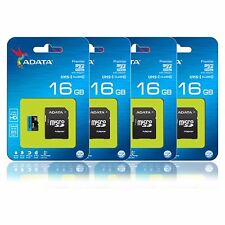 ADATA 16GB 16G Micro SD HC Class 10 TF Flash SDHC Memory Card Wholesale Lot 4