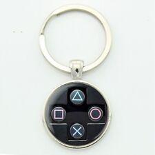 Schlüsselanhänger Playstation 4 Ps4 zocker Controller gadgets gamer cabochon