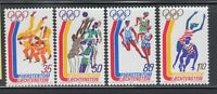 Liechtenstein 1976 Sc 591-594 Olympics Judo complete mint never hinged
