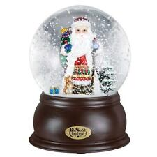 Fanciful Santa Snow Globe by Old World Christmas-LED Lighted & Musical