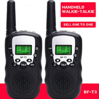 2PCS Baofeng BF-T3 Walkie Talkie Atomatic Battery Save LCD 2 Two Way Radio 5KM