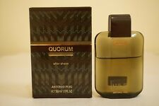 Quorum by Antonio Puig After Shave Splash 50 ml  1.7 oz for Men Vintage