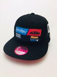 New Era Troy Lee Designs KTM Racing Snapback Hat