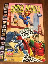Celebrate the Century [Super Heroes Stamp Album] #4 (1998, DC / United States...