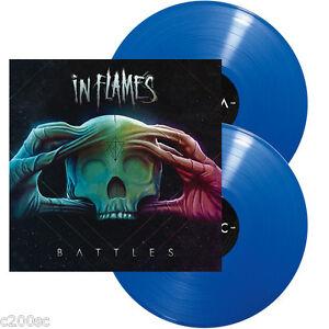 IN FLAMES - BATTLES, ORG 2016 EU 180G BLUE vinyl 2LP, 500 COPIES! NEW - SEALED!