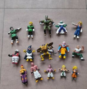 Lot de 15 Figurines DBZ Dragon Ball Z 1989 AB Toys
