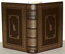 Cervantes - Don Quixote - HB Franklin Library , Ltd Edition, 1976 Leather