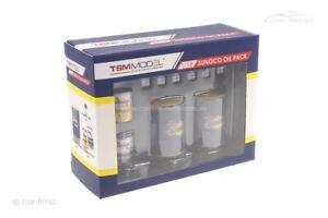 Sunoco Oil Pack Ölfässer Diorama TSM 1:18 TSM12AC22