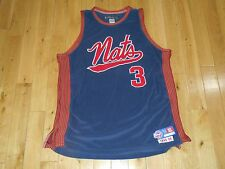Vtg Reebok ALLEN IVERSON 1948-49 SYRACUSE NATIONALS NATS DFunkd Team JERSEY XL
