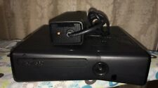 Microsoft Xbox 360 S Slim Model 1439 Console & Power Cord Only Black