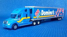 Tonkin 1/87 HO Domino's Pizza Freightliner Columbia Sleeper cab w 53' reefer van