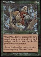 4x Wood Elves MTG Exodus NM Magic Regular