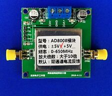 Ad8008 650Mhz dual channel bandwidth current feedback amplifier