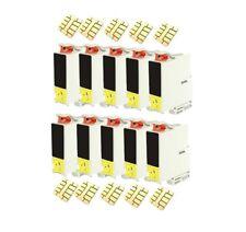 10 Druckerpatronen black für Epson Stylus C66 (kein original Epson)