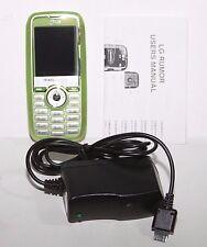 LG Rumor LX260 Green Readymobile CDMA Slider QWERTY Keyboard USED
