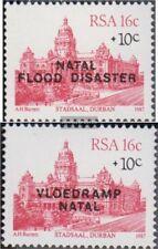Zuid-Afrika 714-715 (compleet.Kwestie.) postfris MNH 1987 Flutkatastrophe in Nat