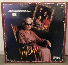 Mom (1990) Laserdisc LD Jeanne Bates Mark Thomas Miller Horror Slasher Rare