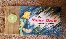 Vintage The Nancy Drew Mystery Board Game Parker Brothers 1957 Salem MA