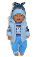 Bambole vestiti abiti bambola Baby Born 43cm o simili Regalo Ragazze Vestito Ragazza Ragazzo