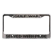 Gulf War Veteran License Plate Frame