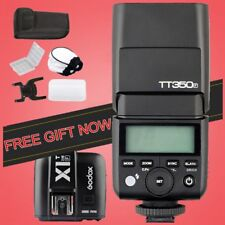 Godox Mini TT350F HSS TTL Flash Speedlite + X1T-F Trigger for Fujifilm Camera UK